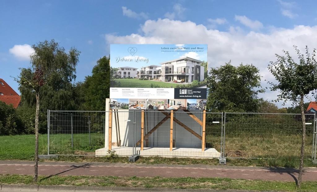Hier, in einem der attraktivsten Ortsteile Cuxhavens, entstehen in zentraler aber ruhiger Lage 17 großzügig geschnittene Wohnungen von 70 m² bis 144 m².